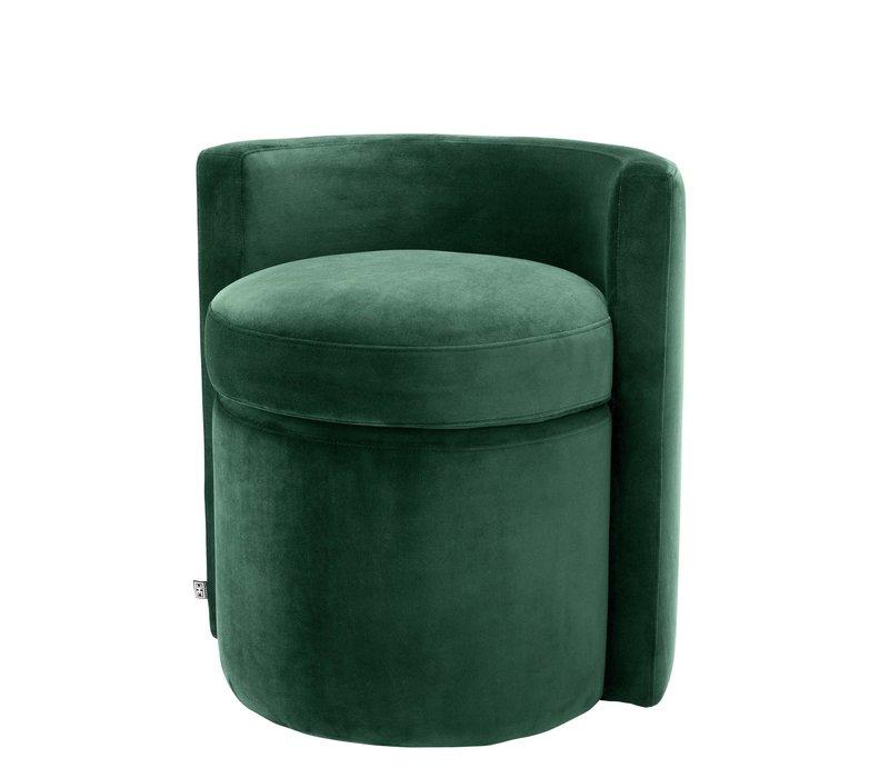 'Arcadia' Dark Green Stool