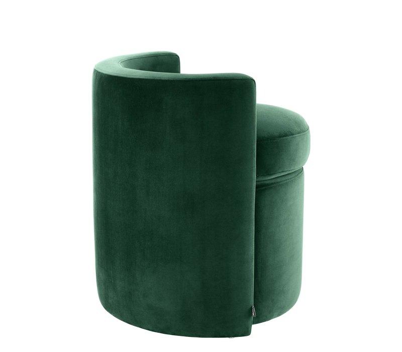 Polsterstool 'Arcadia' Dark Green