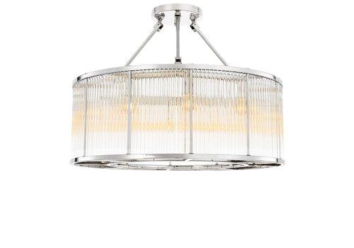 EICHHOLTZ Plafondlamp Bernardi- Nickel Finish