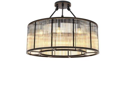 EICHHOLTZ Plafondlamp Bernardi- Bronze highlight finish