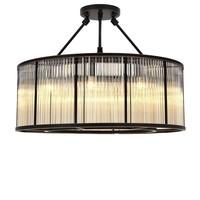 Ceiling lamp 'Bernardi' Bronze highlight finish