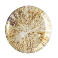 Decorative concave mirror 'Laguna S' Gold