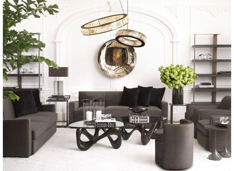 Decoratieve Concave spiegel 'Laguna S' Gold