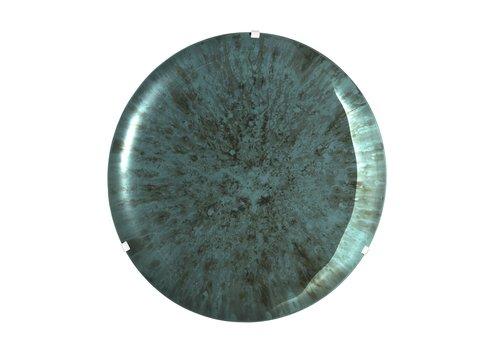 EICHHOLTZ Dekorativer konkaver Spiegel 'Laguna S' Green
