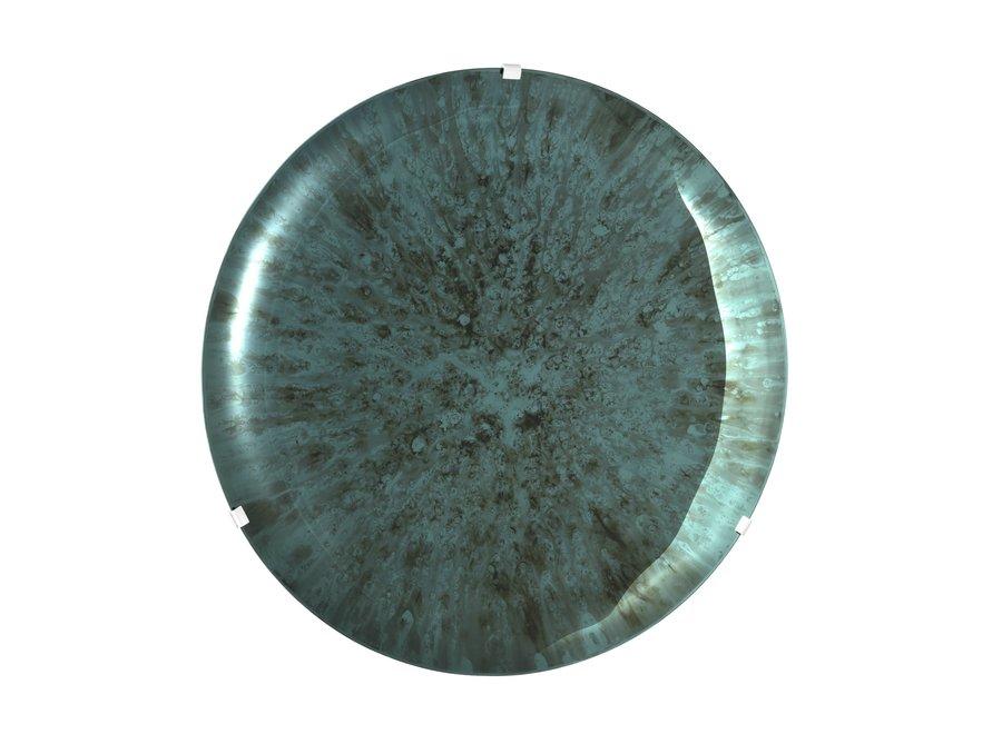 Decoratieve Concave spiegel 'Laguna S' Green
