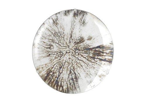 EICHHOLTZ Dekorativer konkaver Spiegel 'Laguna S' Silver