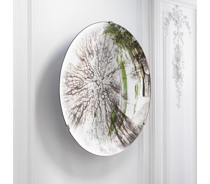 Decorative concave mirror 'Laguna S' Silver