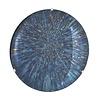 EICHHOLTZ Dekorativer konkaver Spiegel 'Laguna S' Blue