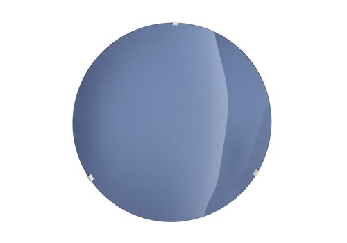 EICHHOLTZ Decorative concave mirror 'Laguna S' Solid Blue