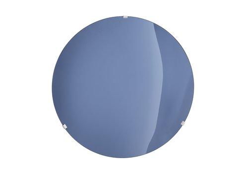 EICHHOLTZ Dekorativer konkaver Spiegel 'Laguna S' Solid Blue