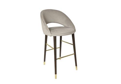 Dome Deco Bar chair'Bend' Cream