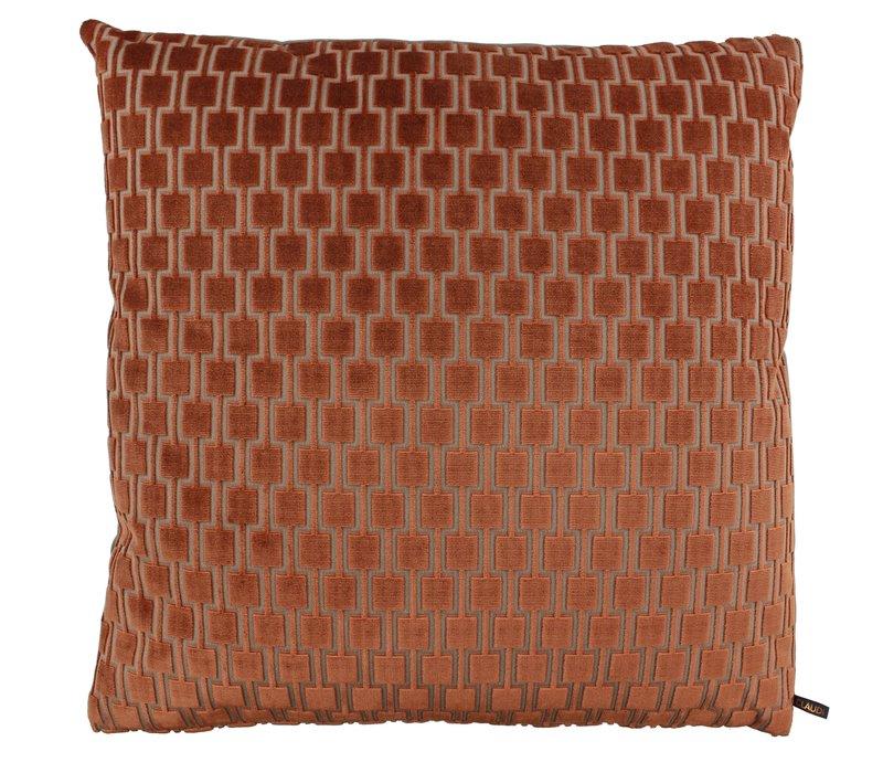 Cushion Frior in color Brique