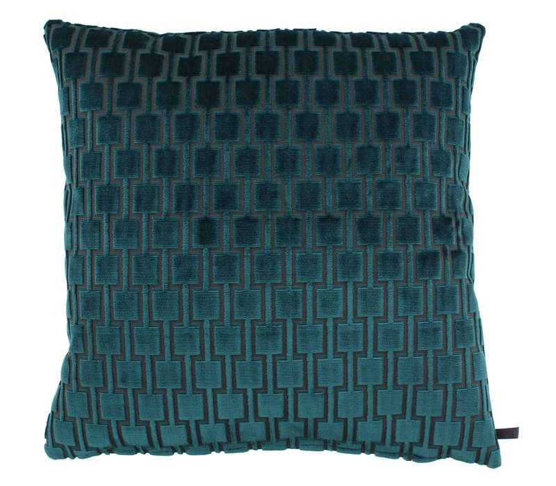 Cushion Frior in color Emerald