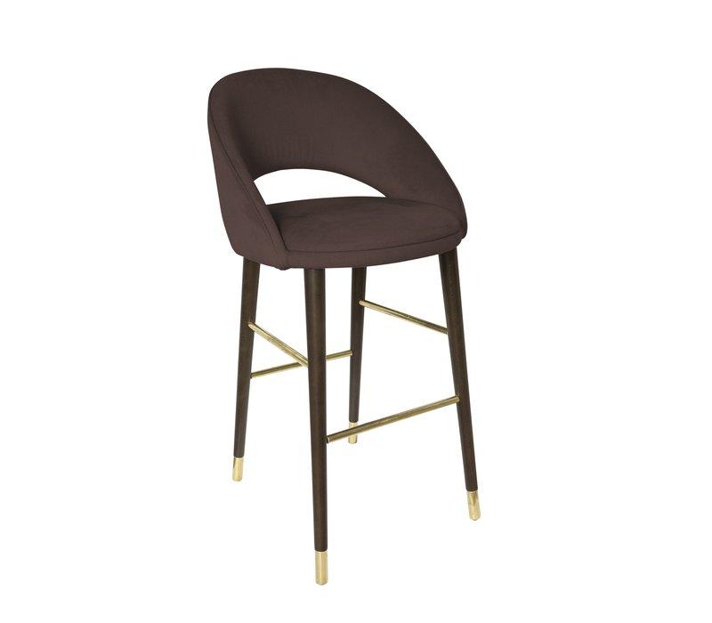 Bar chair 'Bend' Ebony