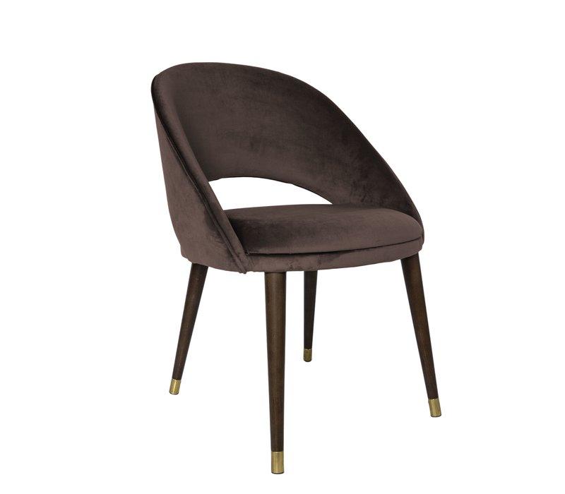 Dining chair 'Bend' Ebony