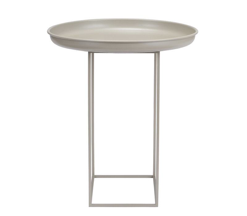Side table 'Duke Small' - Stone Grey