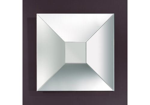 Deknudt square mirror 'Disco'