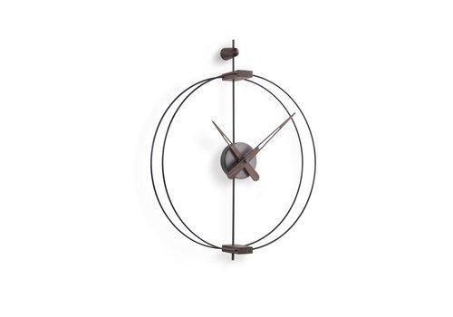 Nomon Design wall clock 'Micro Barcelona' T Graphite