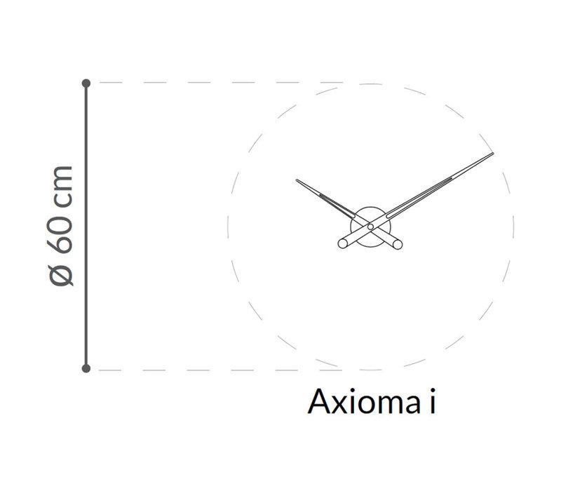 Design Wanduhr 'Axioma I' 60cm