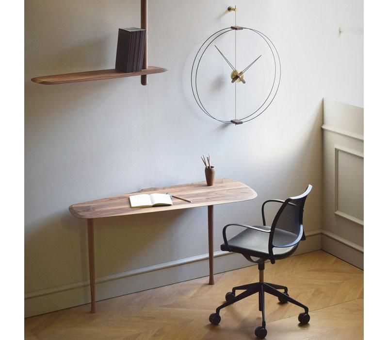 Design Wandklok 'Mini Barcelona' Gold diameter 66 cm