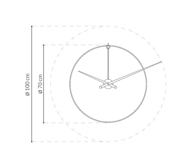 'New Anda' XXL Wall Clock