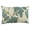 CLAUDI Zierkissen Florida Dark Mint / Gold