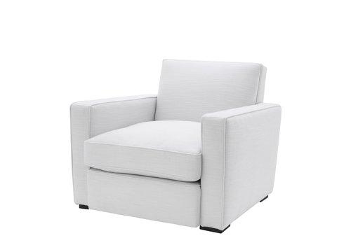 EICHHOLTZ Chair 'Edmond' Avalon white