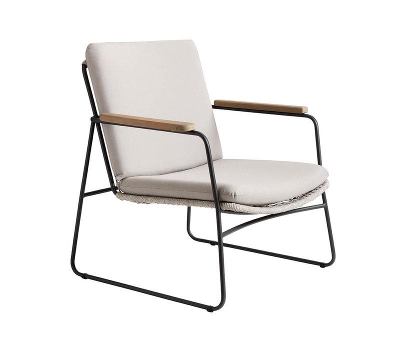 Lounge chair Tasi, water-based coating