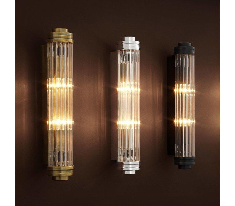 'Gascogne' Wall Lamp Nickel S