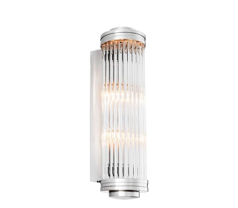 Wandlamp 'Gascogne' Nickel L