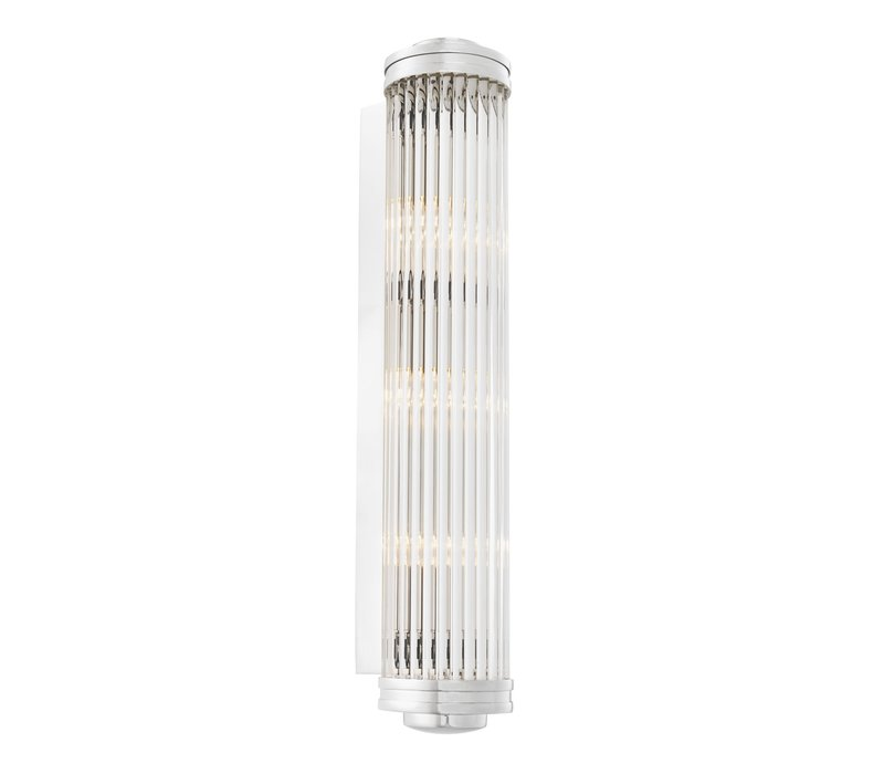 'Gascogne' Wall Lamp Nickel XL