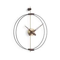 Design wall clock 'Micro Barcelona' G Gold   Diameter = 42 cm