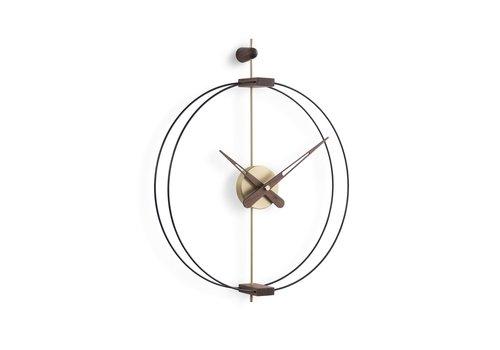Nomon Design wall clock 'Micro Barcelona' G Gold