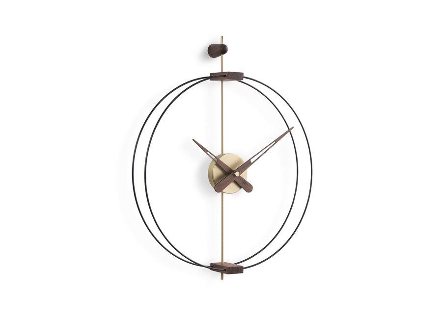 Design wandklok 'Micro Barcelona' G Gold  | Diameter = 42 cm
