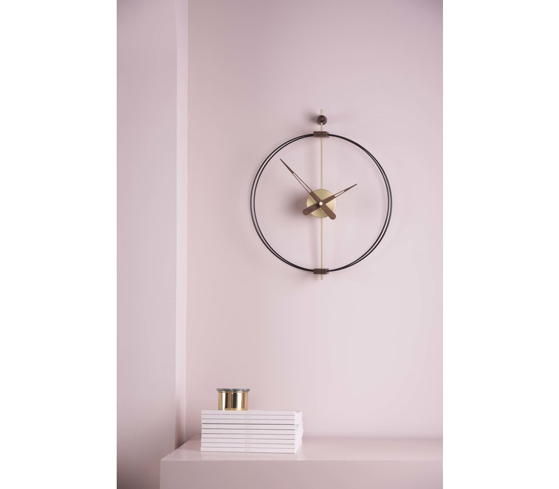 Design Wanduhr 'Micro Barcelona' G Gold | Durchmesser = 42 cm