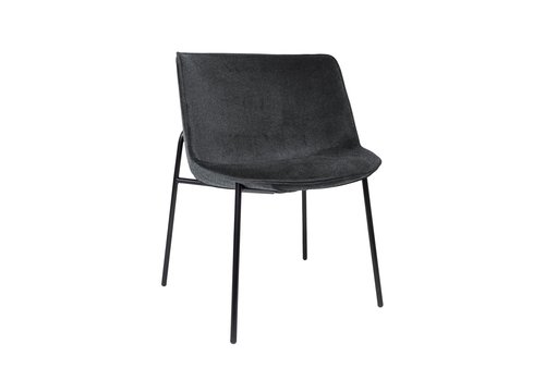 Dome Deco Dining chair 'Loop' Anthracite BAQUEIRA