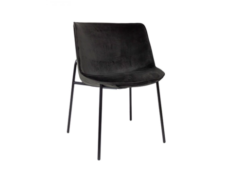 Dome Deco Dining chair 'Loop' Anthracite MIRAGLIO