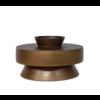 Dome Deco Aluminium-Vase 'Bronze'