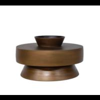 Aluminium-Vase 'Bronze'
