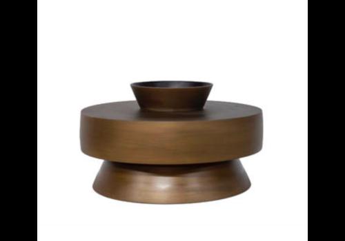 Dome Deco Aluminium vase 'Bronze'