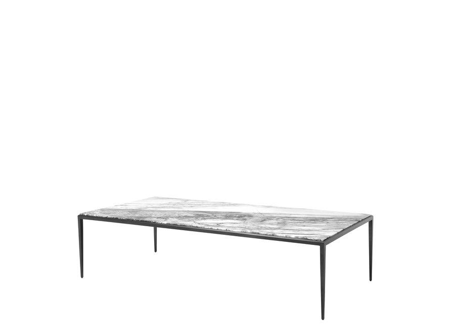 Design salontafel 'Henley' Bianco | 160 x 78 x 40cm