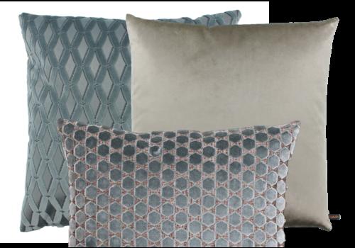 CLAUDI Cushion combination Iced Blue: Pasquinel, Bandi & Orsina