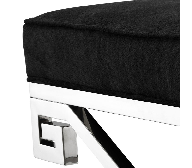 Small stool black 'Okura'