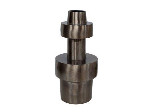 Dome Deco Aluminium-Vase 'Silver'