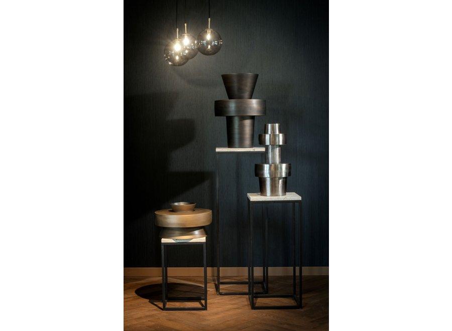 Aluminium vaas 'Toba' modern design