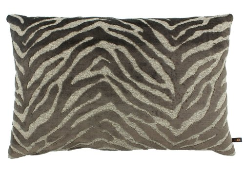 CLAUDI Cushion Paco Dark Taupe