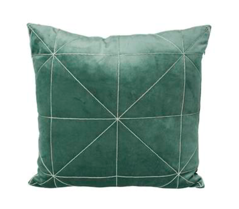 Kissen Oli in der Farbe Green