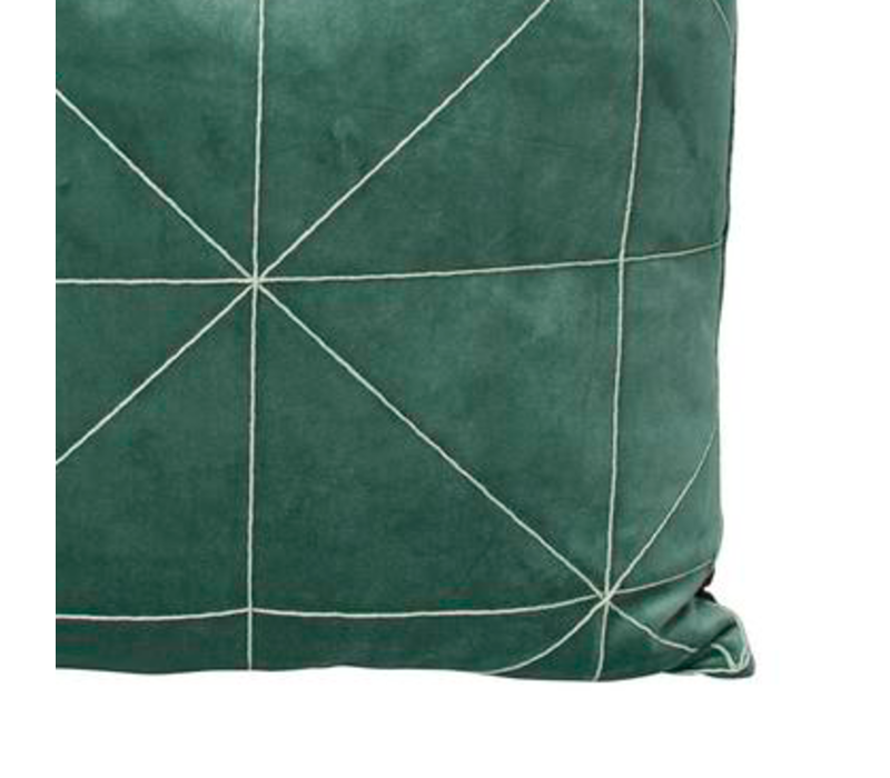 Cushion Oli in color Green