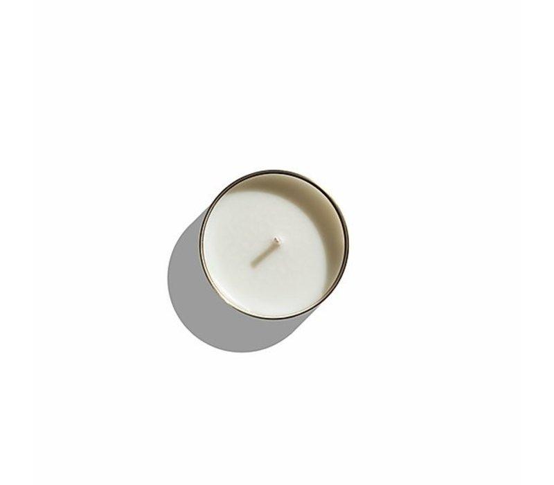 Scented candle Luna 'Violet Tabac'