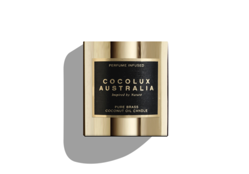 Cocolux Australia Geurkaars Luna 'Island Fig, Cassis & Peach' - S